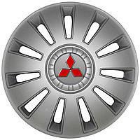 Колпаки Колесные Mitsubishi (серый) R15