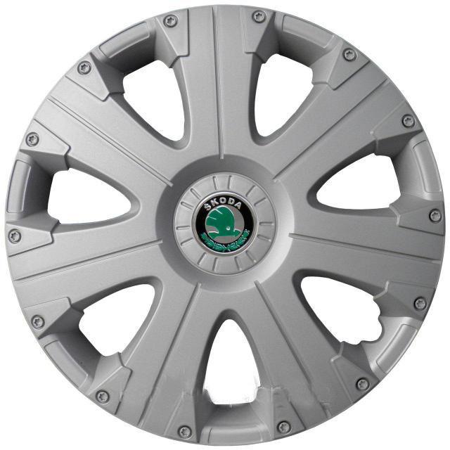 Колпаки Колесные Skoda (серый) R15