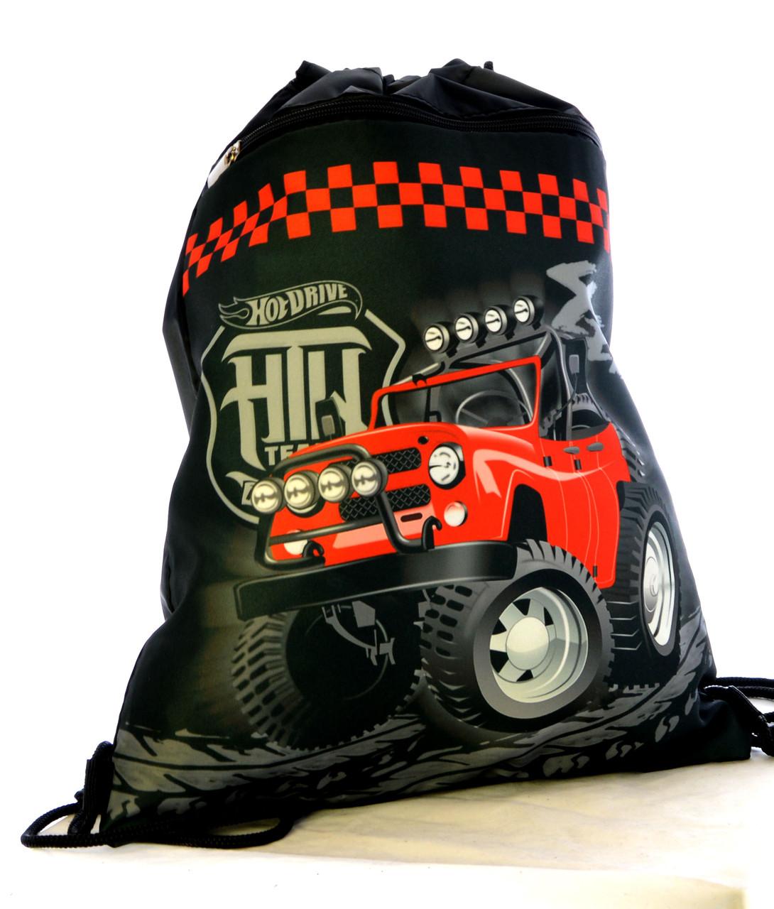 Рюкзак для сменки Красный джип