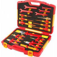 Комплект диэлектрического инструмента TOLSEN VDE (18 предметов ) (V83418)