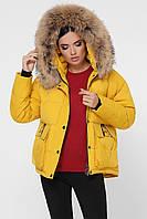 Куртка женская, цвет: 40-желтый, размер: L, S, XL