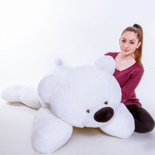 Плюшевый медведь большой 200 см