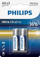 Батарейка Philips Ultra Alkaline AA BLI 2