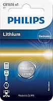 Батарейка Philips Lithium CR 1616 BLI 1