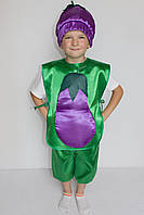 Костюм на праздник осени Баклажан для мальчика 3-6 лет