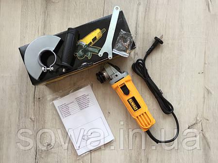 ✔️ Болгарка, ушм DeWALT - DWE4157 ( 125 мм, 900 Вт )  + ПОДАРОК, фото 2