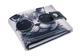 Кошелек унисекс Крутой кот . Удобный и компактный