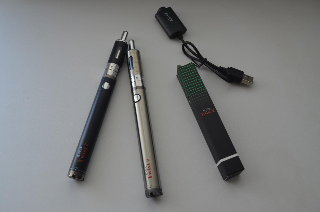 Электронная сигарета EVOD Twist 2 1600mAh + AeroTank EMOW