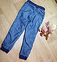 Стильные утепленные джинсы с хлопковой подкладкой на манжете H&M (Англия) (Размер 6-7Т), фото 2