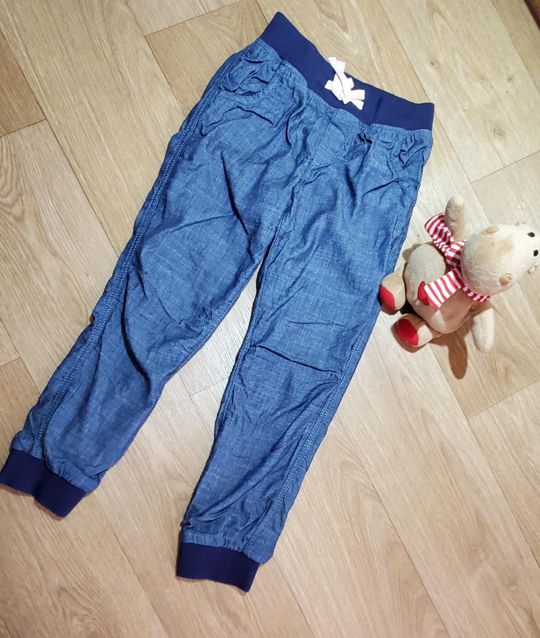 Стильные утепленные джинсы с хлопковой подкладкой на манжете H&M (Англия) (Размер 6-7Т)