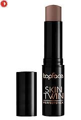 Контуринг-стик для лица TopFace Skin Twin Perfect Stick Contour РТ562 № 02 02 Top-Chic
