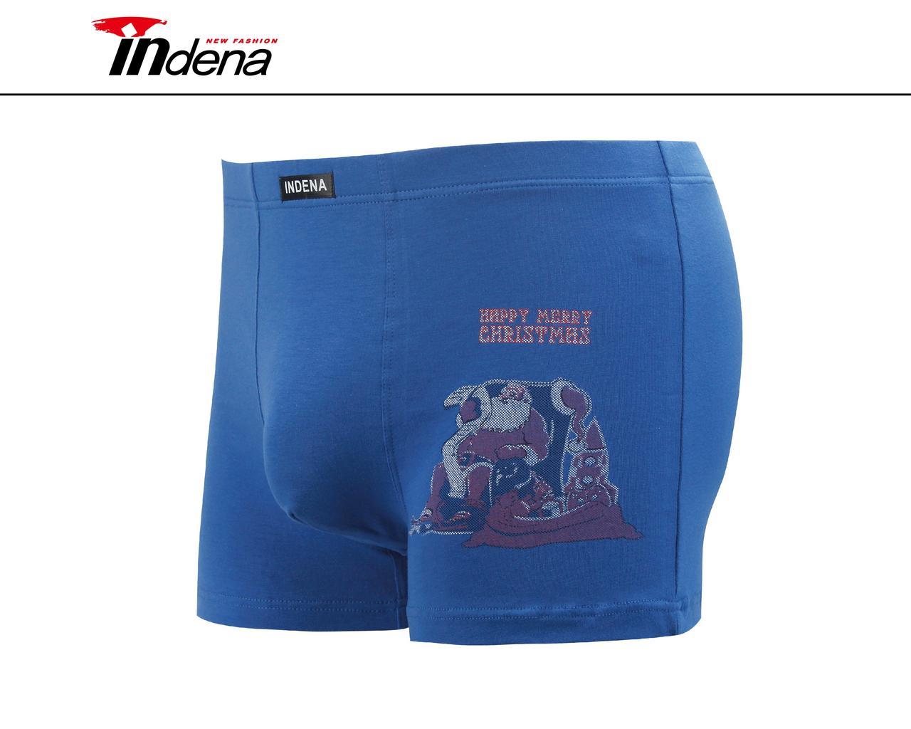 Мужские стрейчевые боксеры «INDENA»  АРТ.85106