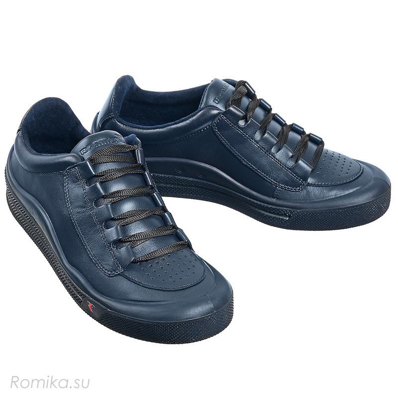 Кроссовки мужские черные Romika 41R03800
