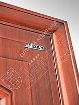 Китайские стальные входные двери Абвер (Abwehr)  11-32 автоэмаль медь, фото 3