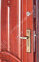 Китайские стальные входные двери Абвер (Abwehr)  11-32 автоэмаль медь, фото 2