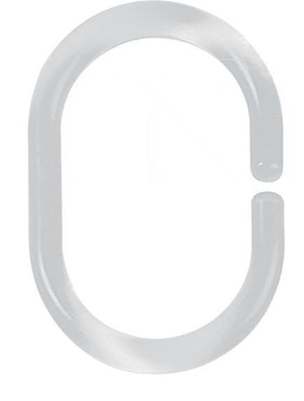 Набор колец для штор 12шт Spirella 40076 C-MINOR