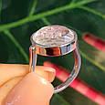 Серебряное кольцо Шопард с двигающимися фианитами - Брендовое серебряное кольцо, фото 9