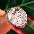 Серебряное кольцо Шопард с двигающимися фианитами - Брендовое серебряное кольцо, фото 7