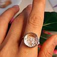 Серебряное кольцо Шопард с двигающимися фианитами - Брендовое серебряное кольцо, фото 6