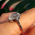 Серебряное кольцо Шопард с двигающимися фианитами - Брендовое серебряное кольцо, фото 4