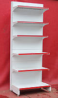 Торговые пристенные (односторонние) стеллажи «Eden» 240х91 см., на 6 полок, Б/у, фото 1