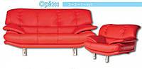 Диван и кресла под заказ с задней стенкой сублимация Орион №221