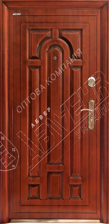 Китайские наружные входные двери Абвер (Abwehr) Kalmia  12-32 автоэмаль медь