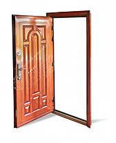 Китайские наружные входные двери Абвер (Abwehr) Kalmia  12-32 автоэмаль медь, фото 2