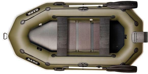 Двухместная гребная надувная лодка Барк ( Bark) B 260NPD,