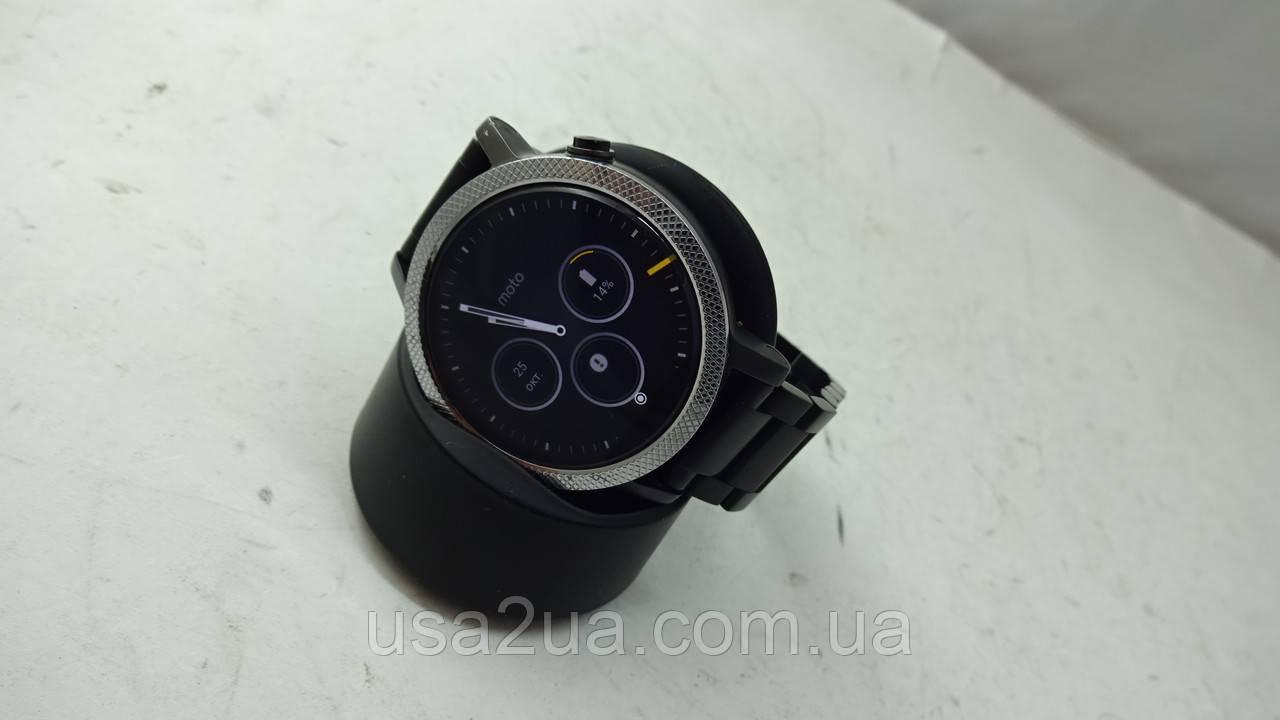 Смарт Часы Motorola Moto 360 2gen  42mm Кредит Гарантия Доставка