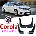 Брызговики MGC TOYOTA Corolla 2013-2018 г.в. Европа комплект 4 шт PZ49UE396000, фото 4