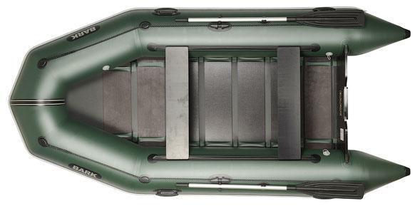 Четырехместная моторная надувная лодка Барк ( Bark) BT-330D с двумя сдвижными сидениями