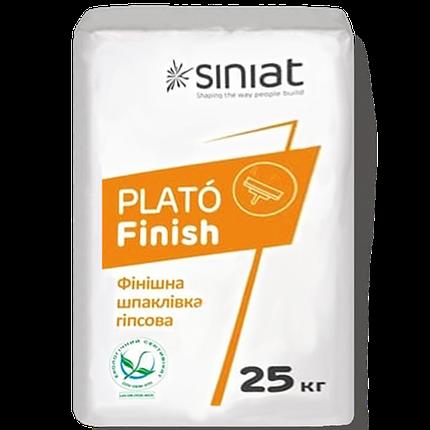 Финишная шпаклевка Plato Finish 25кг SINIAT, фото 2
