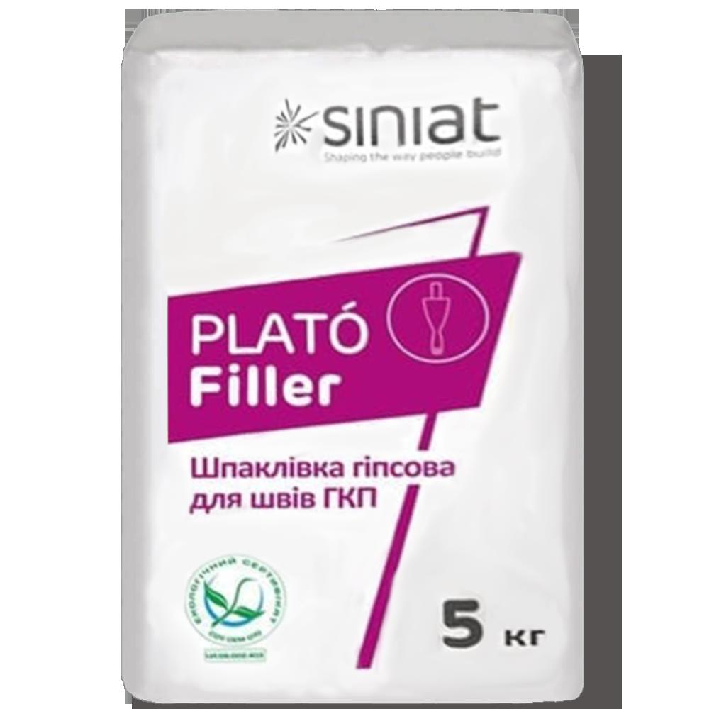 Гипсовая шпаклевка Plato Filler 5кг SINIAT