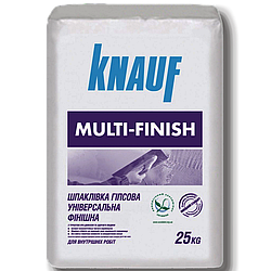 Шпаклевка Multifinish очень пластичная 25кг Knauf
