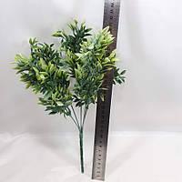 """Искусственный куст """"мирт"""" 31см,цвет зеленый(посветлее), фото 1"""