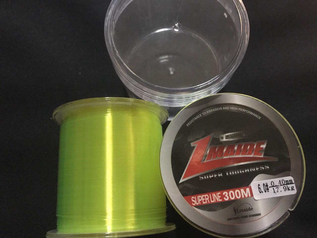 Рыболовная  Леска  300м   0.22мм (светло зеленый)