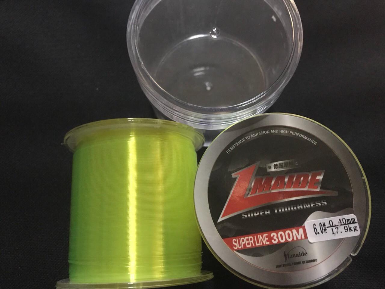 Рыболовная  Леска  300м   0.33мм (светло зеленый)