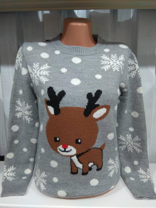 фото свитер новогодний с оленем