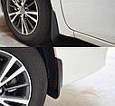 Брызговики MGC TOYOTA Corolla 2013-2018 г.в. Америка комплект 4 шт PZ49UE396000, фото 6