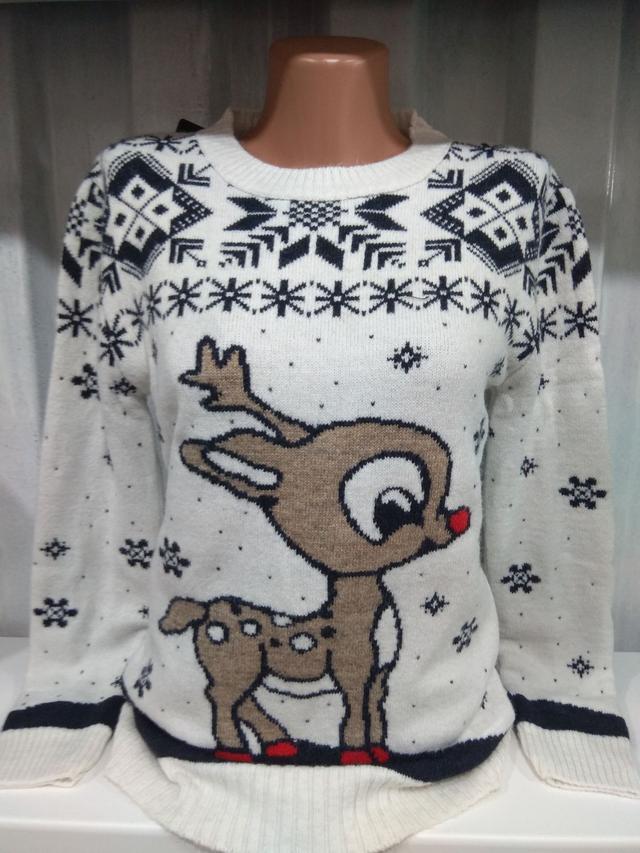 фото свитер рождественский