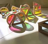 Радужные блоки, маленькая радуга Block Play, 20 шт., с 8 месяцев, фото 2