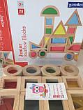 Радужные блоки, маленькая радуга Block Play, 20 шт., с 8 месяцев, фото 5