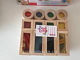 Радужные блоки, маленькая радуга Block Play, 20 шт., с 8 месяцев, фото 6