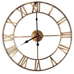 Настенные часы 3D Настенные Часы Кованные Rome Металл
