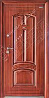 Уличные входные двери Абвер (Abwehr)  11-52 автоэмаль медь