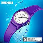Кварцевые детскиечасы Skmei 1401 pink / purple / light blue, фото 3