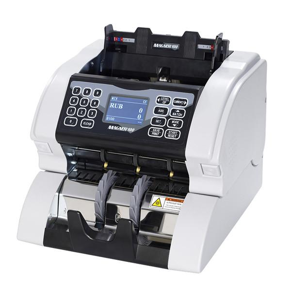 Мультивалютный счетчик купюр с детектором Magner 100 Digital (определение номинала)