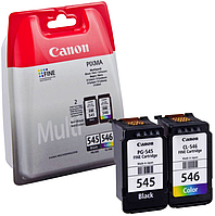 ✅ Комплект картриджей Canon PG-545 / CL-546 Multipack для Canon iP2850,2855,MG2450,MG2455 (Гарантия 12 мес)
