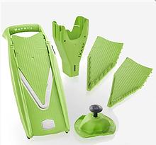 Овощерезка немецкая Бернер Prima  зеленая в подарок бокс для вставок, бесплатная доставка